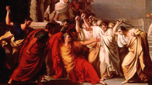 the historic and fictional version of julius caesars assassination From history to the stage an account of shakespeare's adaptation of julius caesar dana jackson originally performed in 1599, the tragedy of julius caesar is one of shakespeare's most enduring plays it however, like most of shakespeare's dramatic works, was not born solely of the author's mind.